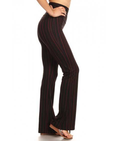 Wholesale Womens High Waist Soft Brush Flare Pants