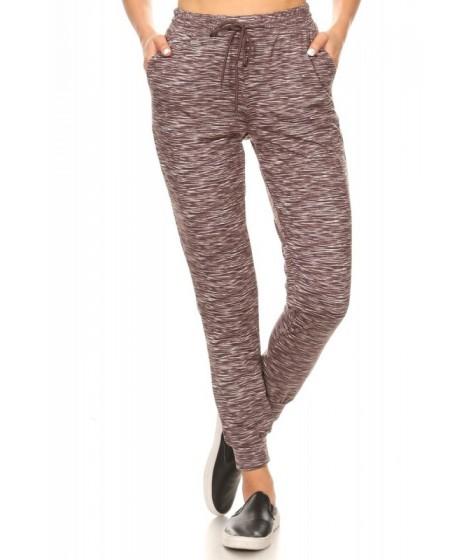 Wholesale Womens Soft Brushed Fleece Lined Joggers Sweatpants