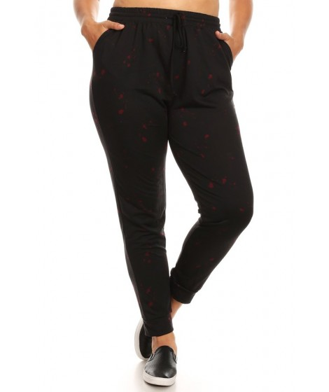 Wholesale Womens Plus Size Soft French Terry Joggers Sweatpants