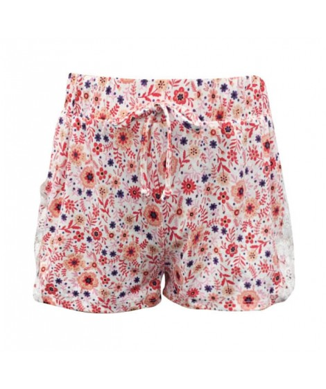 Wholesale Big Kids Soft Brushed Shorts With Side Panel Lace Applique