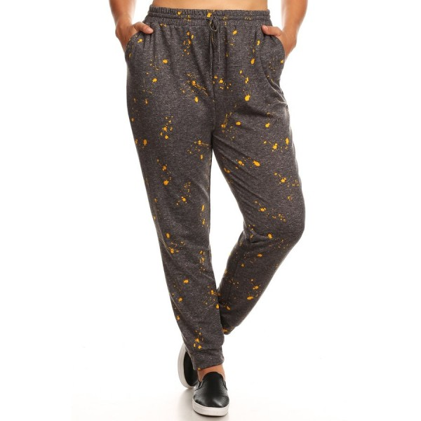 buy online top-rated real factory Wholesale Womens Plus Size Soft French Terry Joggers ...