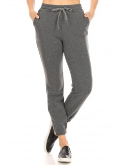 Wholesale Womens Thick Fleece Lined Joggers Sweatpants