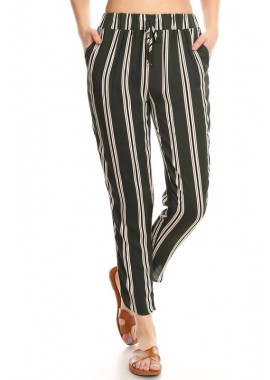 Wholesale Womens Dolphin Hem Cropped Pants
