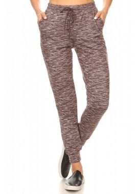 Wholesale Womens Soft Brushed Fleece Lined Joggers Sweatpants