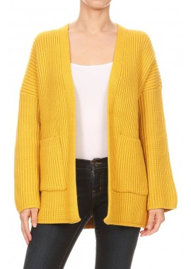 Wholesale Womens Open Front Cardigan Sweaters