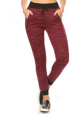 Wholesale Womens Fur Lined Joggers Sweatpants