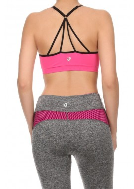 Wholesale Womens Multi Strapped Active Sports Bras Tops 6ABR05FUS