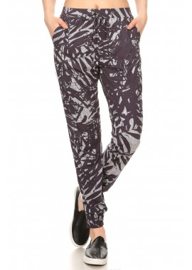 Wholesale Womens Joggers With Striped Side Mesh Panels