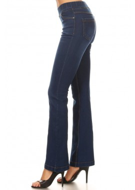 Wholesale Womens Denim Flare Jeggings Pants