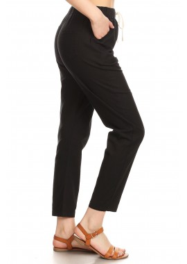 Wholesale Womens Lightweight Drawstring Pants
