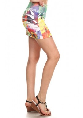 Wholesale Womens Sublimation Mini Skirts