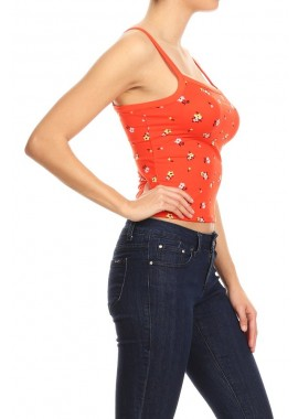 Wholesale Womens Crop Tank Tops With Square Neckline