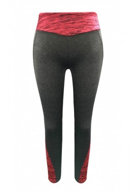 Wholesale Big Kids Contrast Space Dye & Back Panel Leggings
