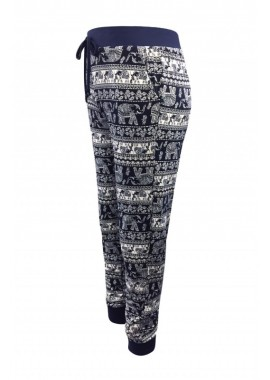 Wholesale Big Kids Poly Brushed Printed Joggers