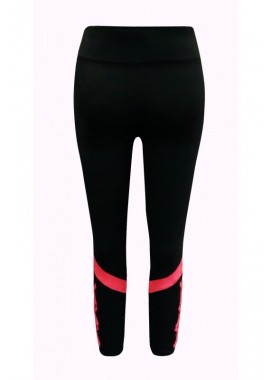 Wholesale Big Kids Color Block Strappy Leggings With Mesh Panels