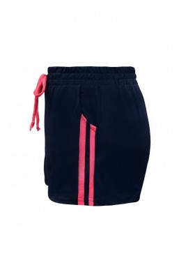 Wholesale Big Kids Striped Side Tape Sports Shorts Solid